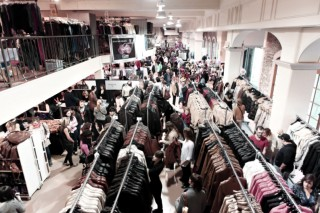 La Braderie in Montreal brought designers and shoppers together in an exciting atmosphere. Photo by Seydou Coulibaly.