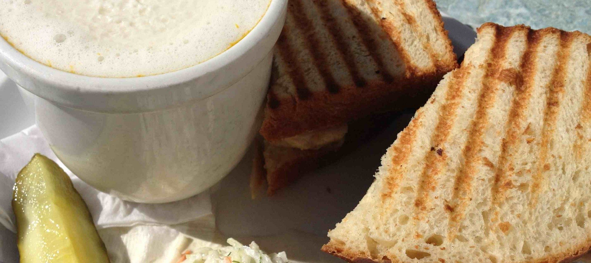 WEEKLY LUNCH PICK: Greet the fall weather with Thyme & Again's seasonally inspired soup + sandwich combo