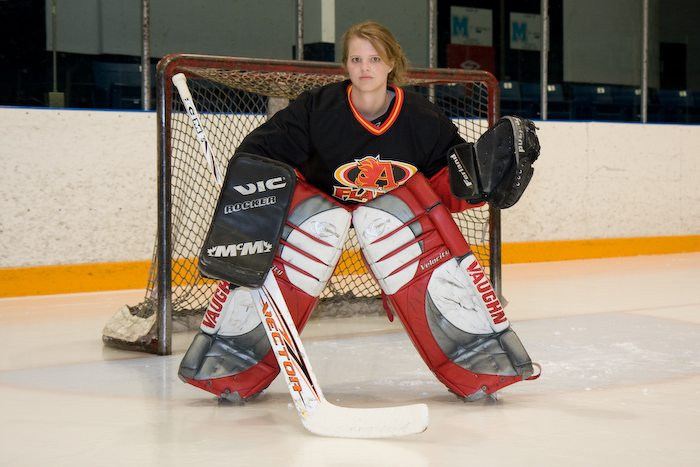 ARTFUL BLOGGER: Photo exhibition at Centrepointe Theatre asks: How can that woman be Muslim if she is playing hockey?