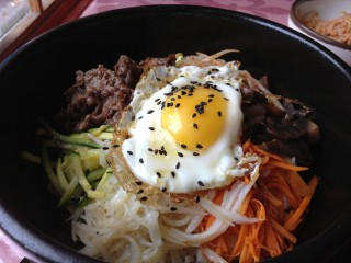 Dolsot Bimimbap from Alirang. Photo by Anne DesBrisay.