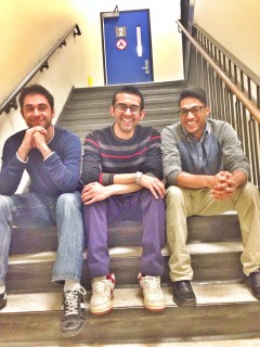 Mahmoud, Mehdi, and Adnan are the brains behind Notewalk.