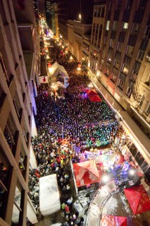 Sparks Street hosts a family-friendly countdown New Year's Eve party.