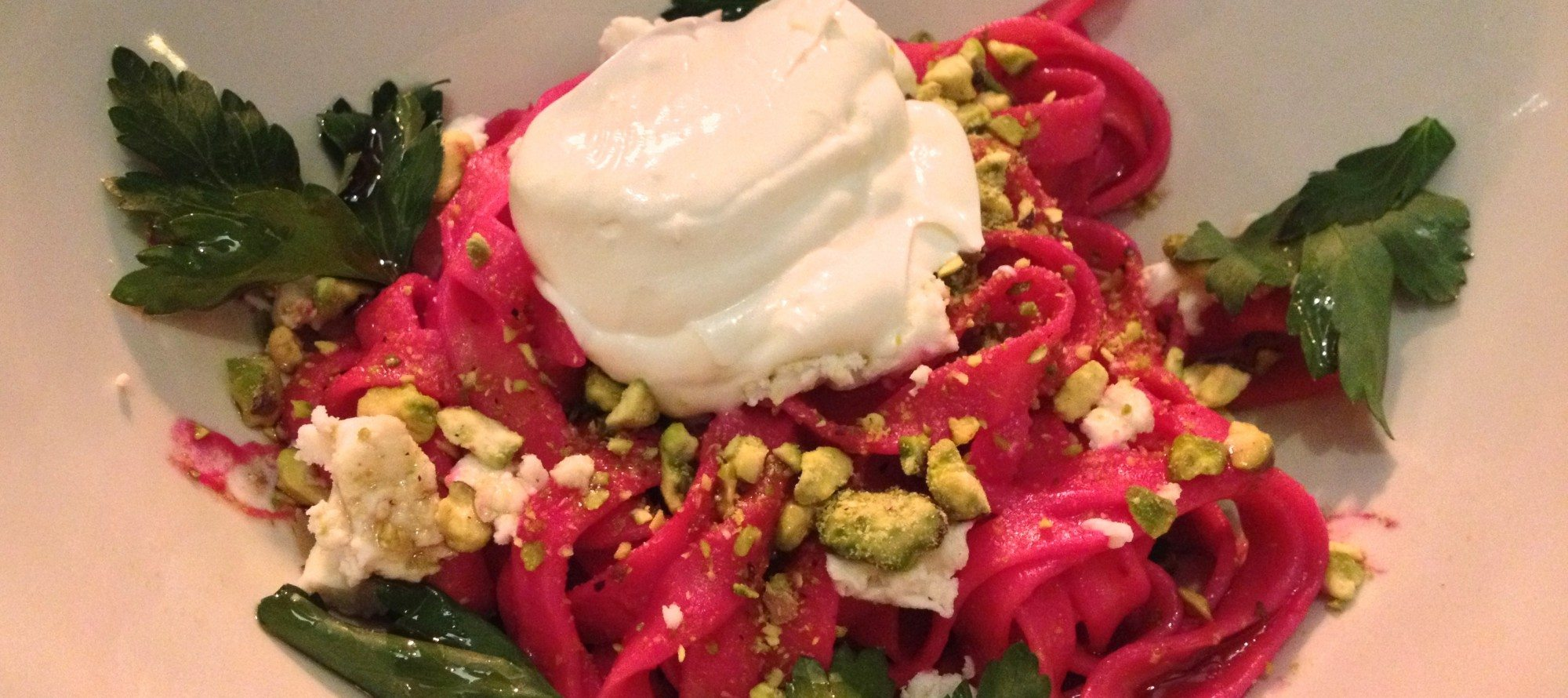 ANNE'S PICKS: Festive beet pasta at The Albion Rooms