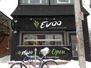 Evoo Greek Kitchen is the latest restaurant to occupy 4381/2 Preston St. Photo by Anne DesBrisay.