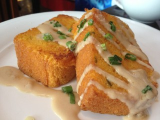 Cornbread . Photo by Anne DesBrisay.