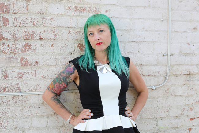 Missy Suicide is the founder and leader of the sexy and renowned online community SuicideGirls