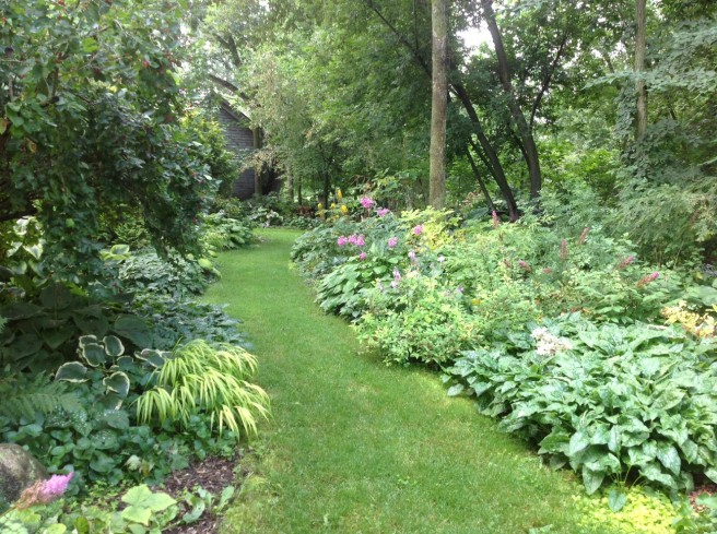 One of the gardens featured in the Canadensis tour.