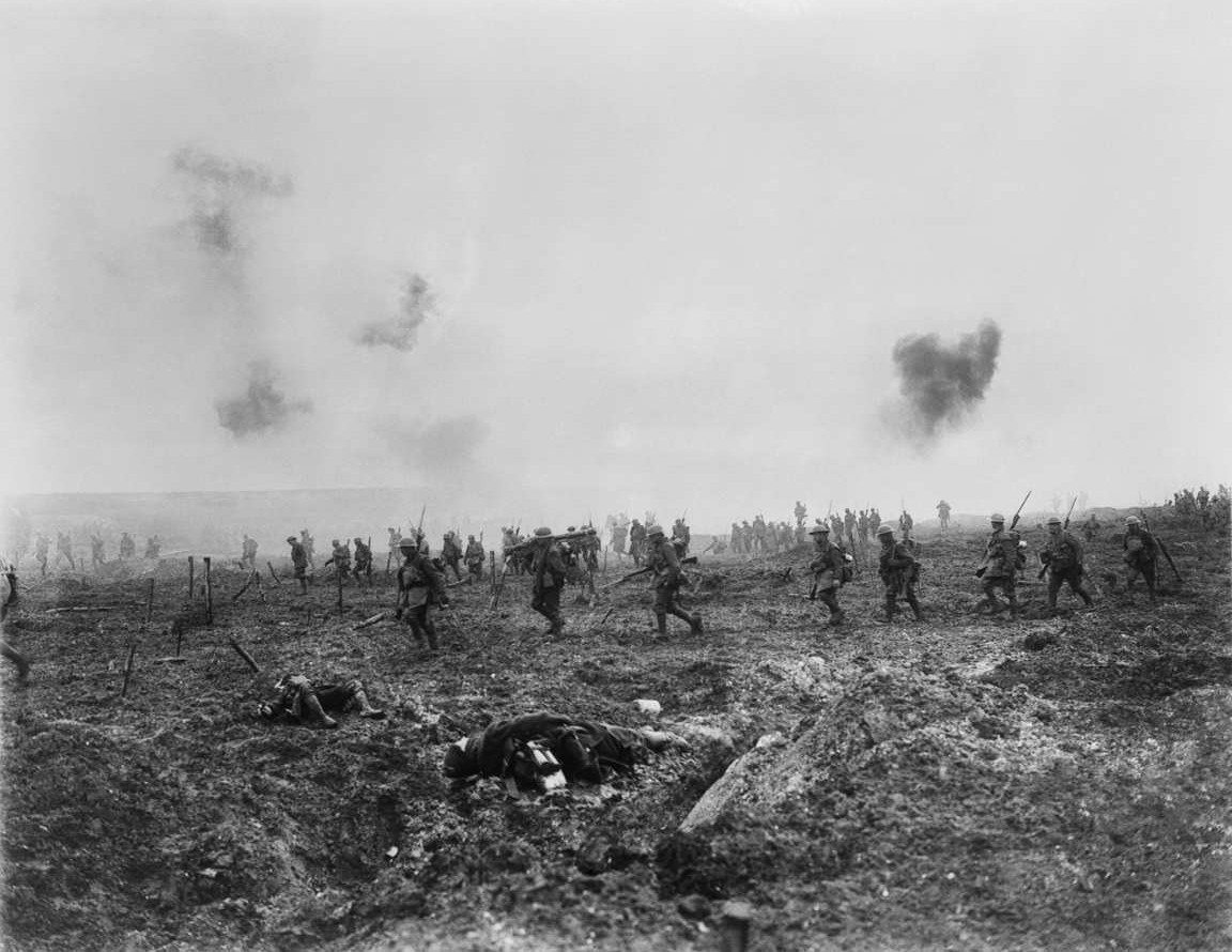 ARTFUL BLOGGER:  National Gallery unveils a giant faked photograph of Canadians storming Vimy Ridge