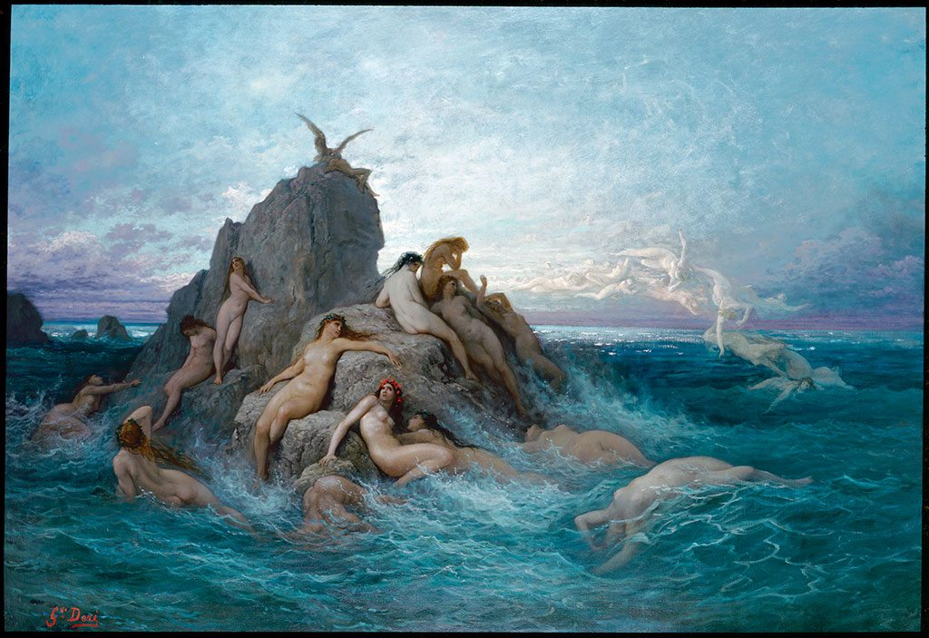 ARTFUL BLOGGER: National Gallery show reveals how Gustave Doré's 19th century illustrations haunt us still