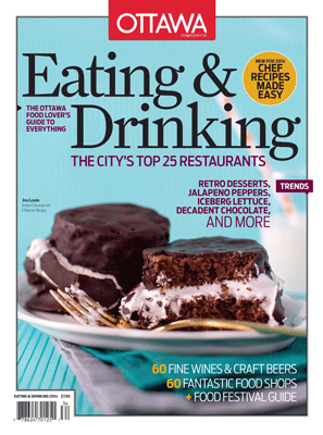 Where to find OTTAWA MAGAZINE