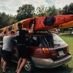 Three Kayaks, One Roof.