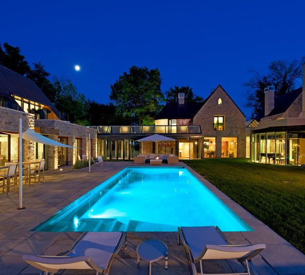 GREAT SPACE: Outdoor elegance at Michael Potter's Rockcliffe residence