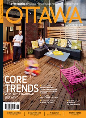 SEPTEMBER 2014: Living in the Downtown Core