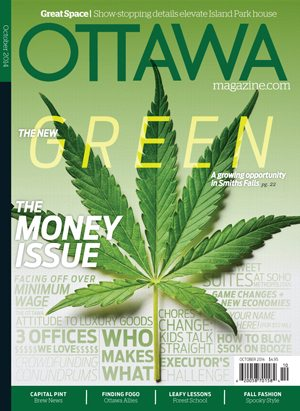 OCTOBER ISSUE: The New Green + Money Talks