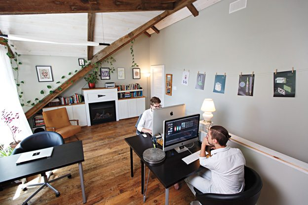 URBAN STUDY: Chinatown home-office an inspired space for Log CB + Pony Girl members