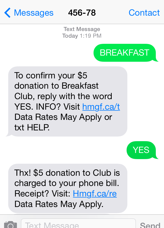 THE GIVER: Tree Huggers, Texting B-Fasts, and Giving Tuesday