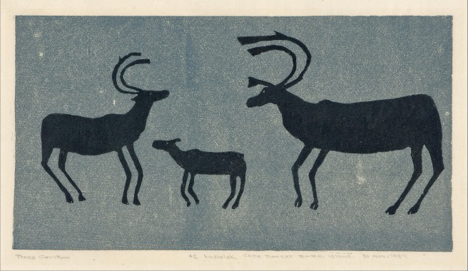 Three Caribou