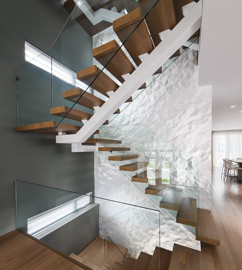 GREAT SPACE: Show-stopping sculptural wall brings wow factor to Island Park home