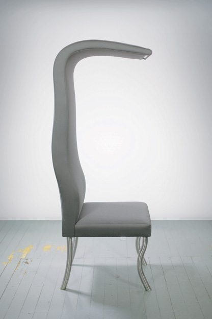 CITYHOME 2014: Kyle Megill's H-Chair — a study in lighting, headspace & movement