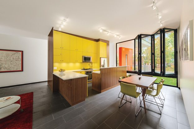 CITYHOME 2014: Cheerful Hintonburg home boasts bright pops of colour