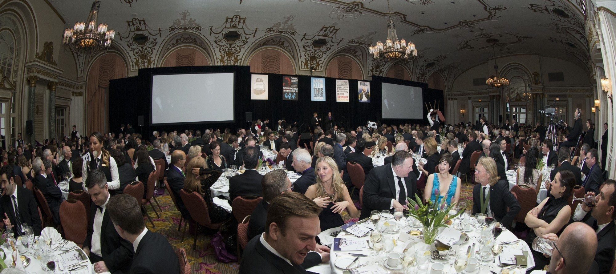 SNAPSHOT: Writers' Trust of Canada Politics & the Pen awards gala