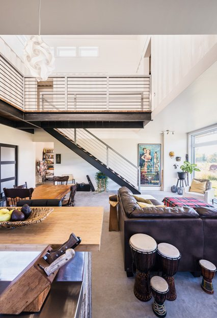 Great Space: Luskville couple builds dream home out of shipping containers