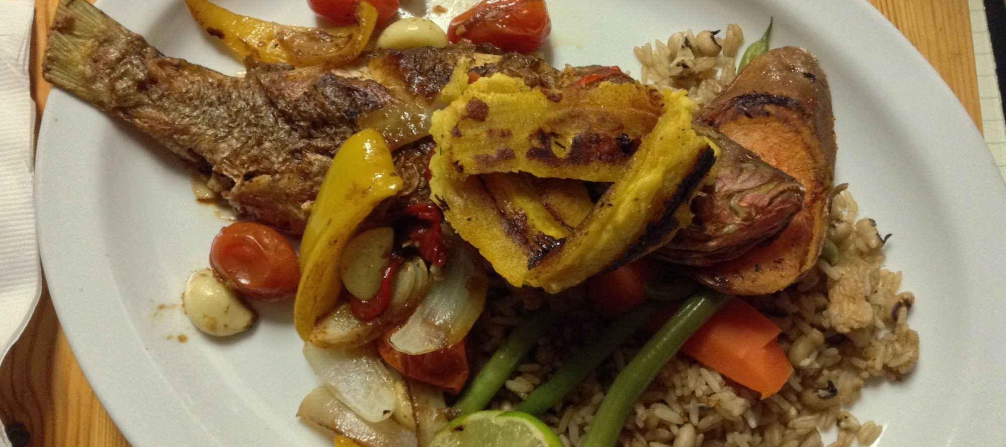DESBRISAY DINES: Back with familiar 'pow', Flavours of the Caribbean