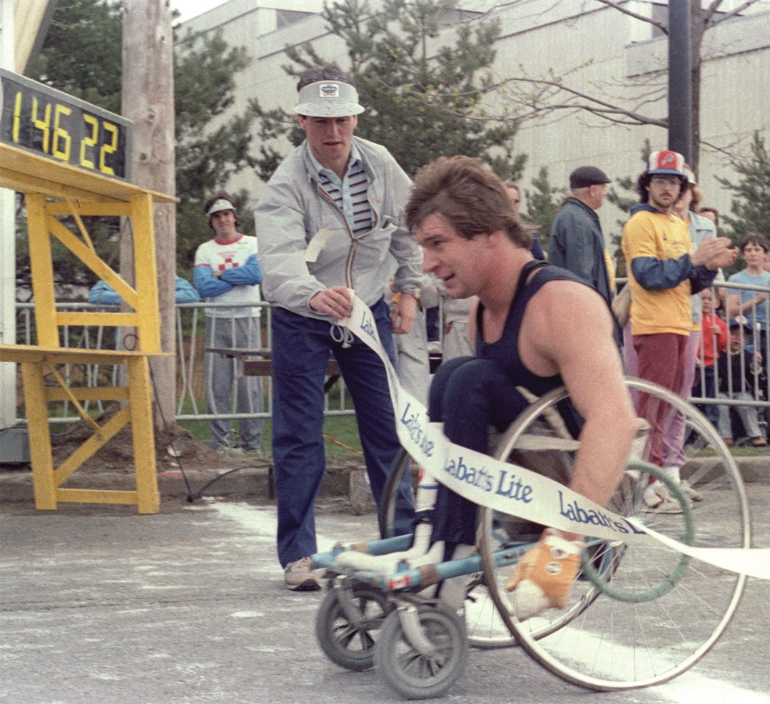 Rick Hansen. Courtesy of Ottawa Run.