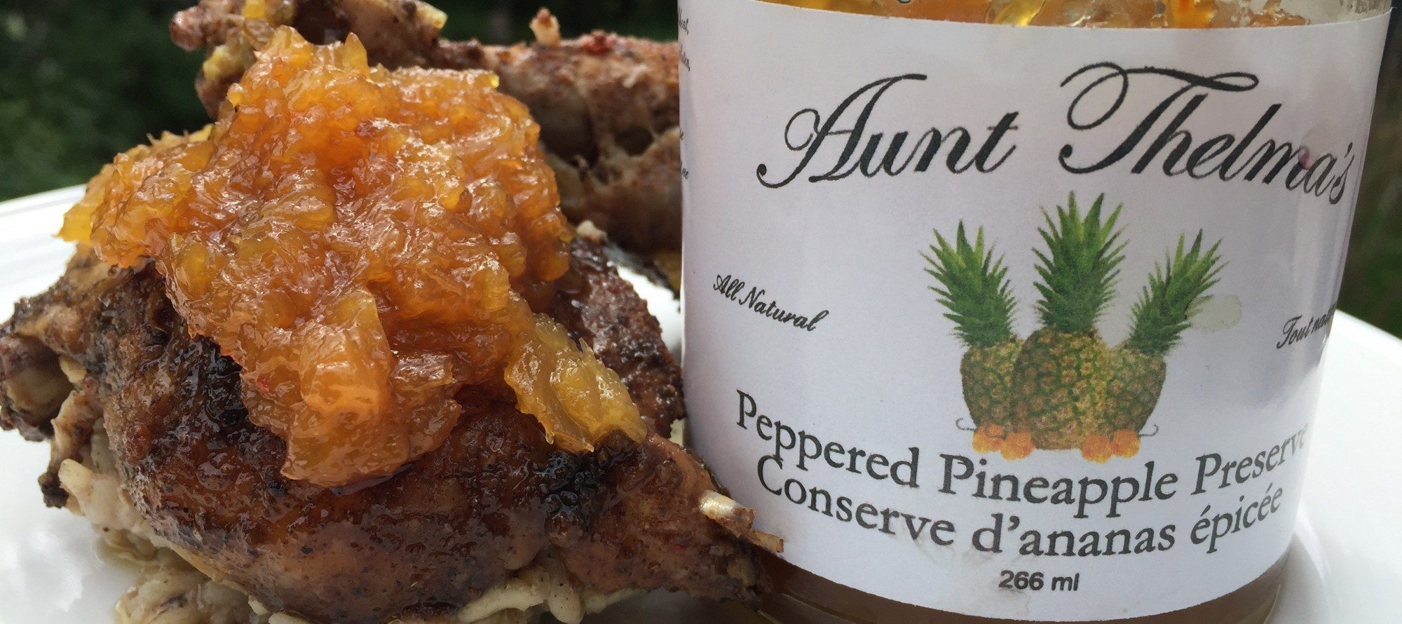 Aunt Thelma's Peppered Pineapple Preserve