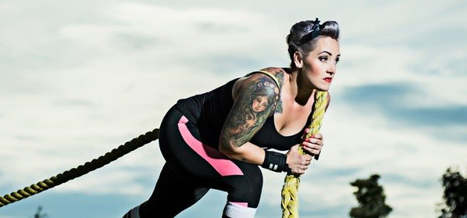 Strongwoman Aimée Brouliaird is September's My Look. Photo by Luther Cavery.