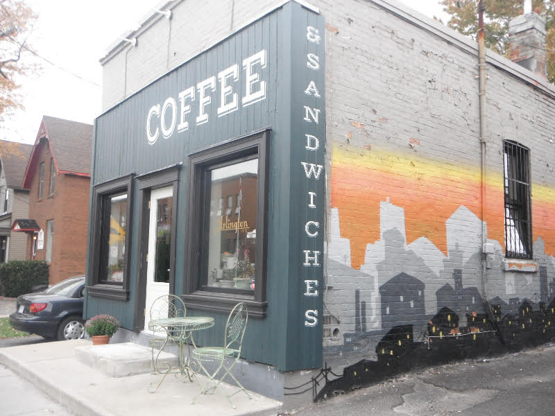 Arlington 5 — Wilf & Ada's new coffee shop. Photo: Jennifer Lynne (laceandluce.com)