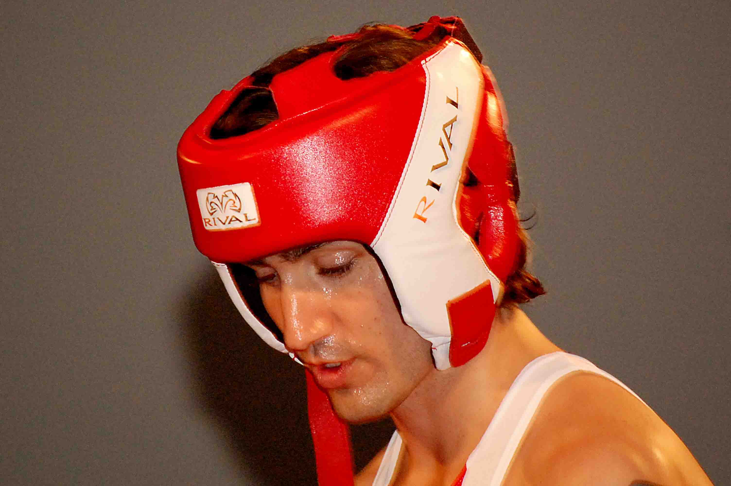 Ottawa photographer Ashley Cottee captured this image of Justin Trudeau during a charity boxing match in 2012. Photo courtesy of Ashley Cottee Photography.