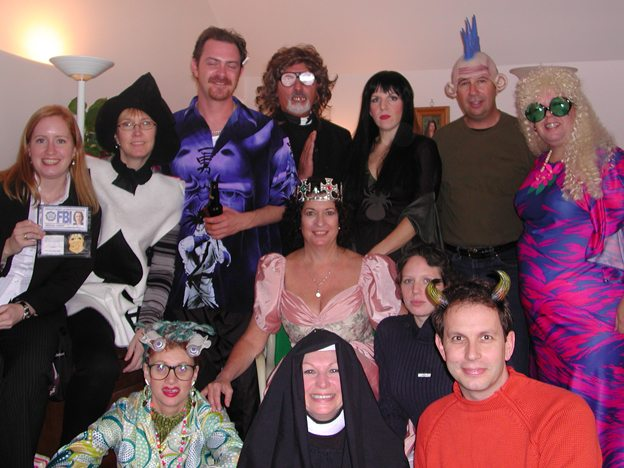 Throwback Thursday — To costume or not to costume? That's the (office) question