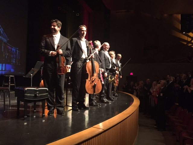 The Sharoun Ensemble received a standing ovation.