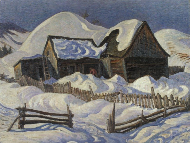 George Pepper Old Barn, Quebec, St. Urbain, Baie St. Paul, 1937 Oil on canvas Firestone Collection of Canadian Art, The Ottawa Art Gallery; Donated to the City of Ottawa by the Ontario Heritage Foundation.