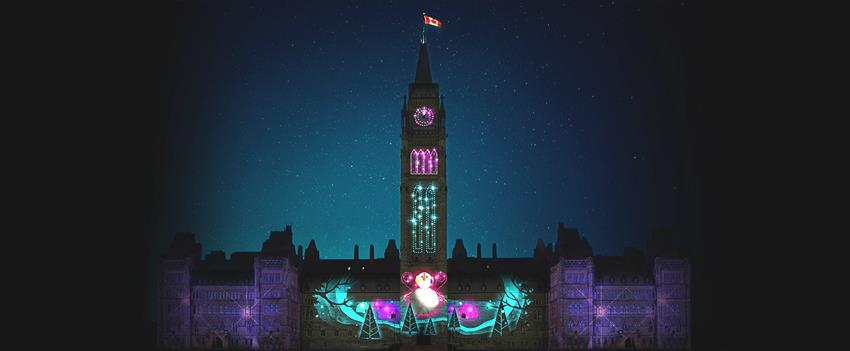 HEADS UP – Xmas Lights on Parliament Hill & Handmade for the Holidays