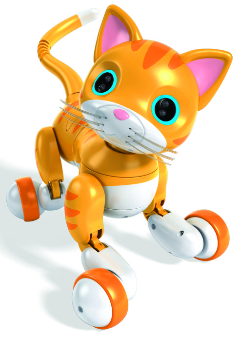 ZOOMER KITTY _ WHISKERS THE ORANGE TABBY (Spin Master)