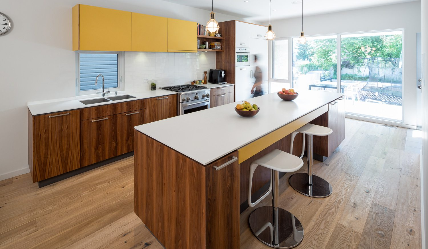 Design-builder sets down roots in Hintonburg with compact family home on vacant side lot