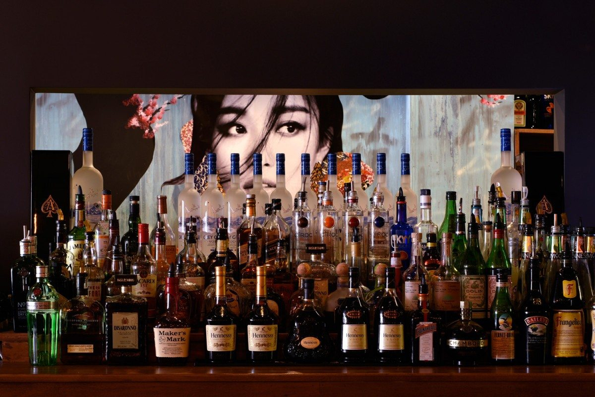 The stunning bar at Tomo. Photo: Gordon King