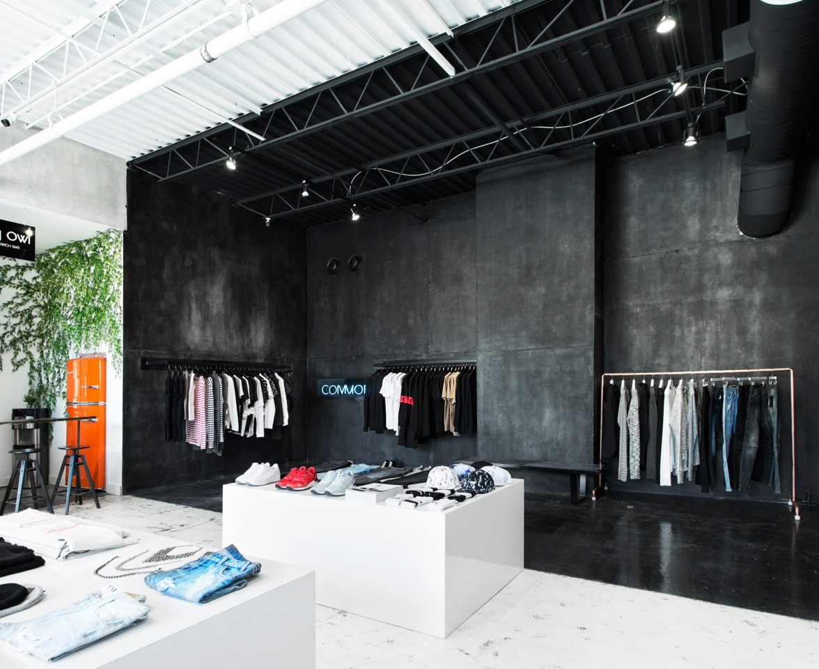 The Common's Concept Shop, featuring brand savvy clothing. Photo: Whitney Lewis-Smith