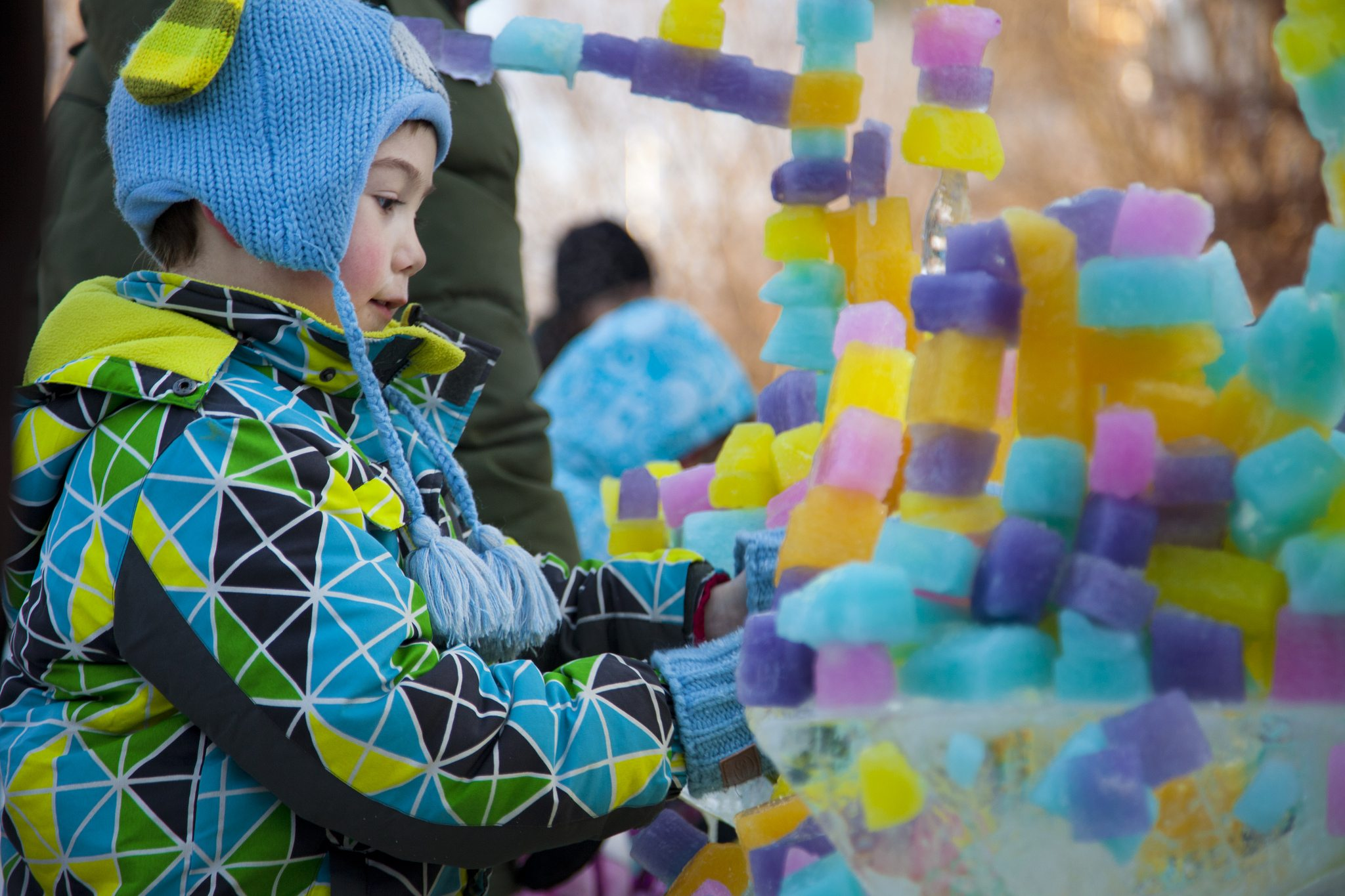 Fun at Crystal Garden in Confederation Park. Photo courtesy Canadian Heritage.