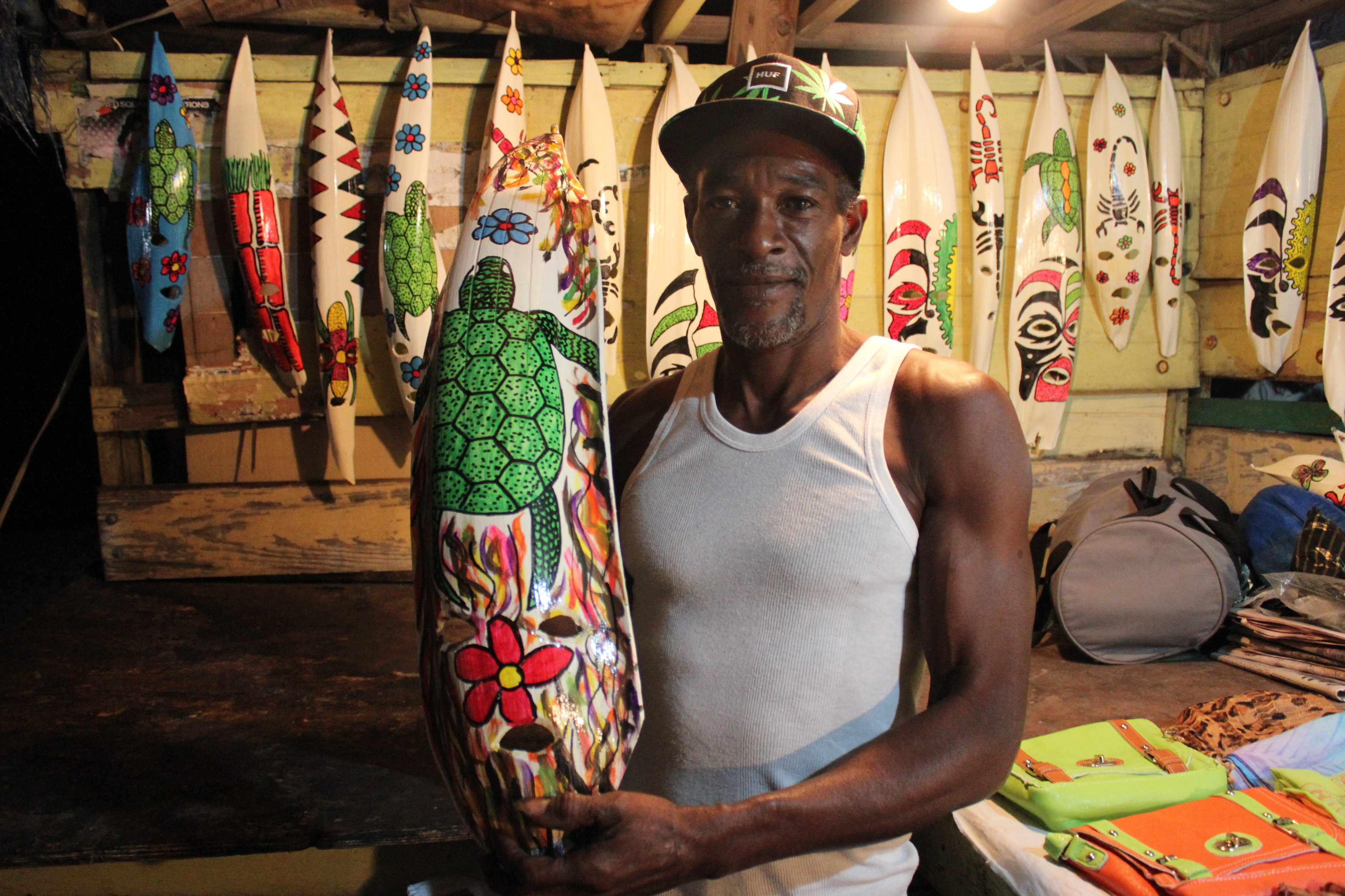 An island vendor at Oisins. Photo by Kimberley Johnson, Ottawa Magazine.