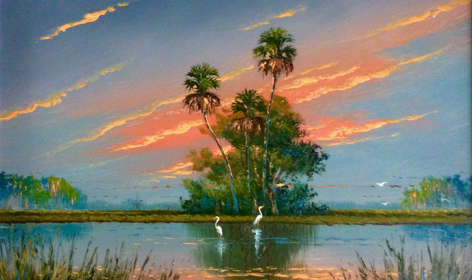 From Michelle Obama to George Bush Sr. — art lovers everywhere are on the Trail of the Florida Highwaymen
