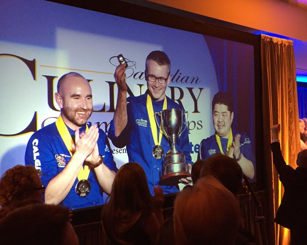 Behind the scenes: How Atelier's Marc Lepine won Gold at the Culinary Championships