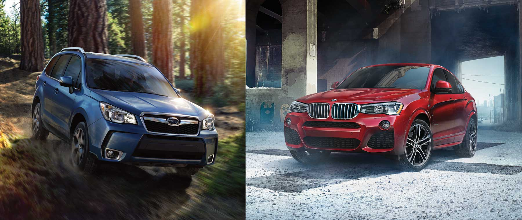 Otto's Subaru Forester & BMW X4 take on the commute