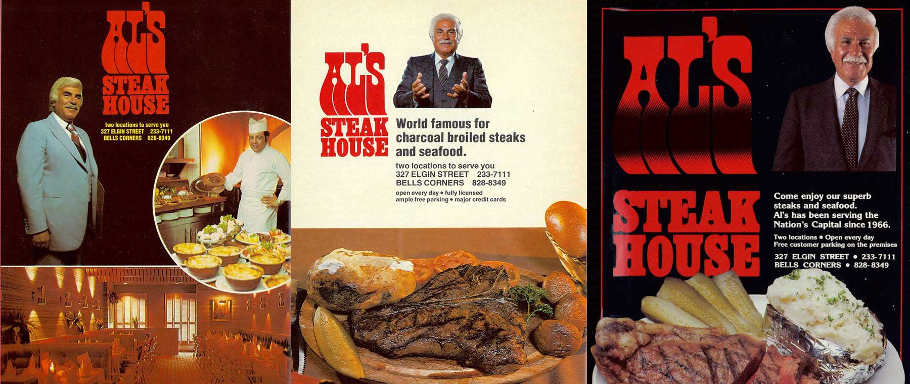 Iconic founder of Al's Steakhouse passes away — the pageantry he created lives on