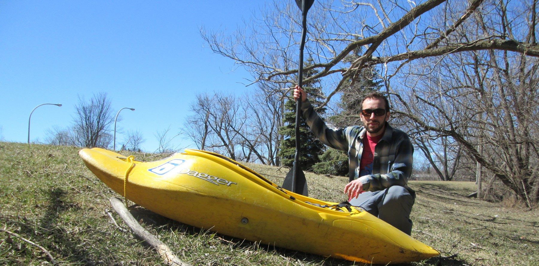 First day of Spring: A kayaker's harrowing, 'half-baked' but oddly meditative trip on Sawmill Creek