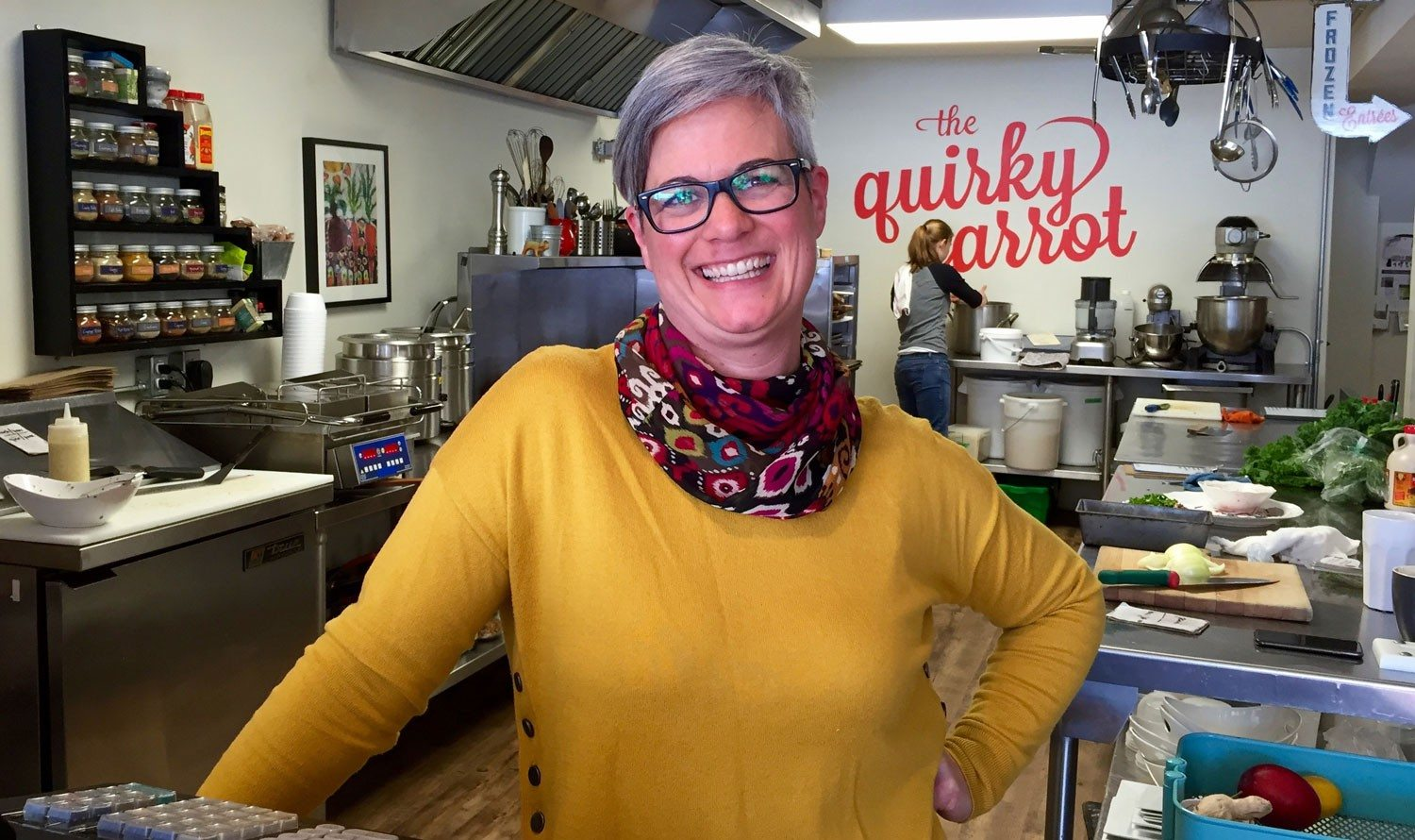 DesBrisay Dines: The Quirky Carrot