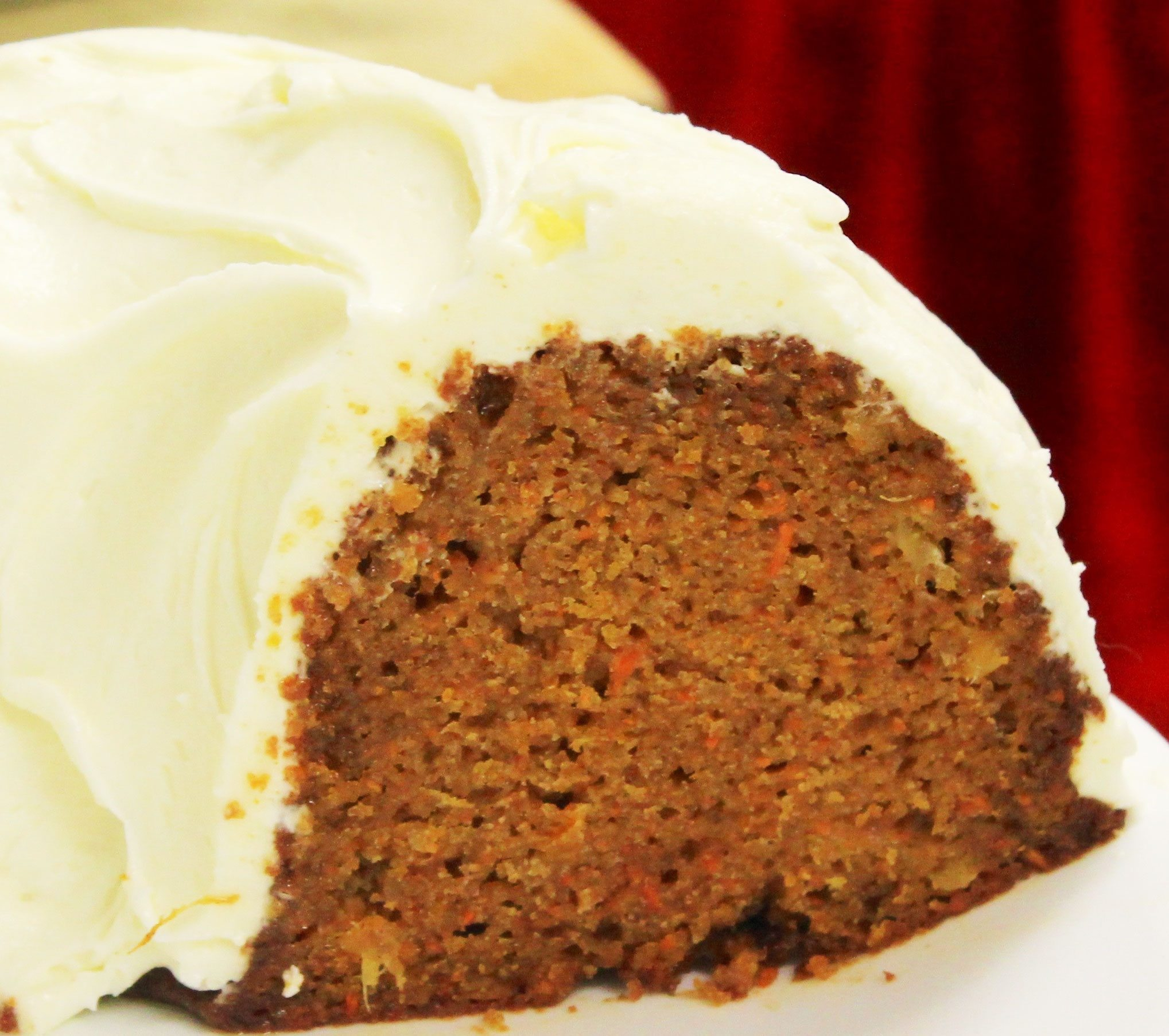 Robin's Nest Tea Room's carrot cake. Photo: Joanna Tymkiw