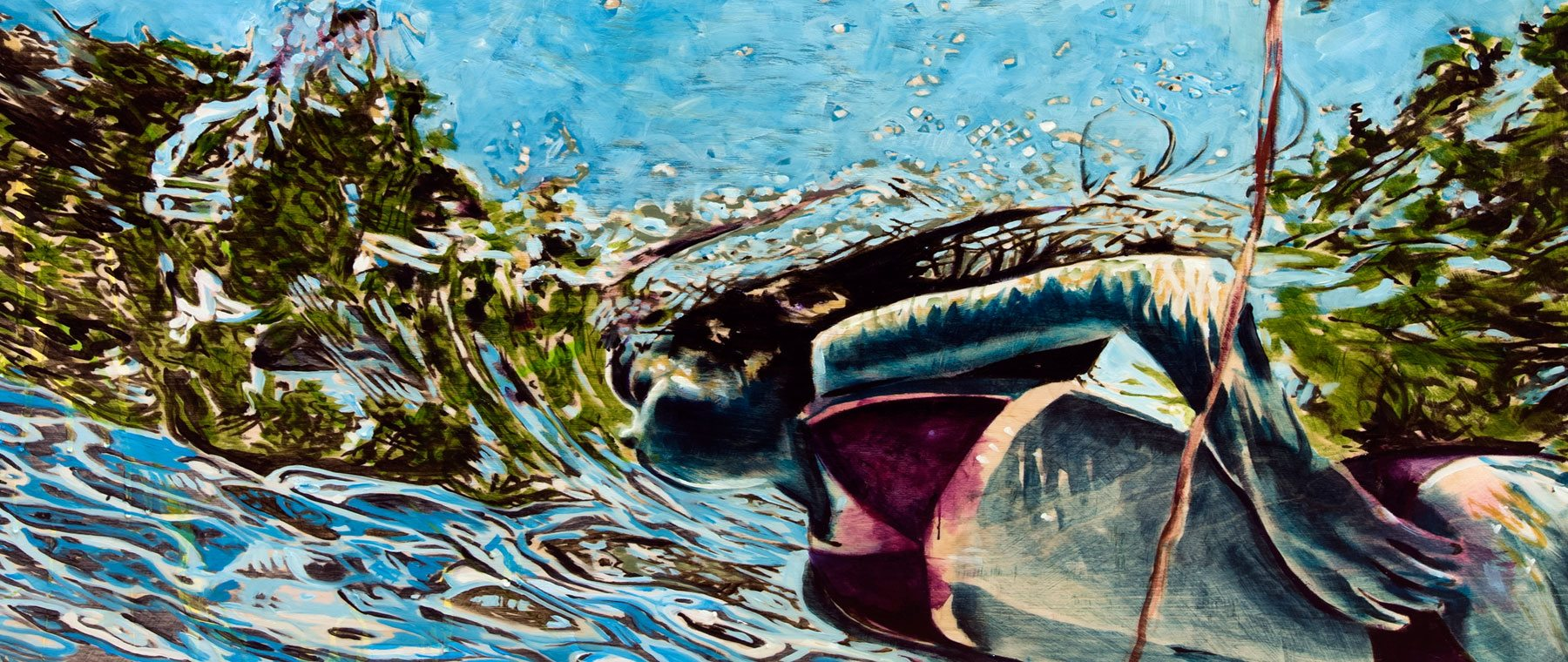 Sarah Hatton's work explores lake in Canadian psyche